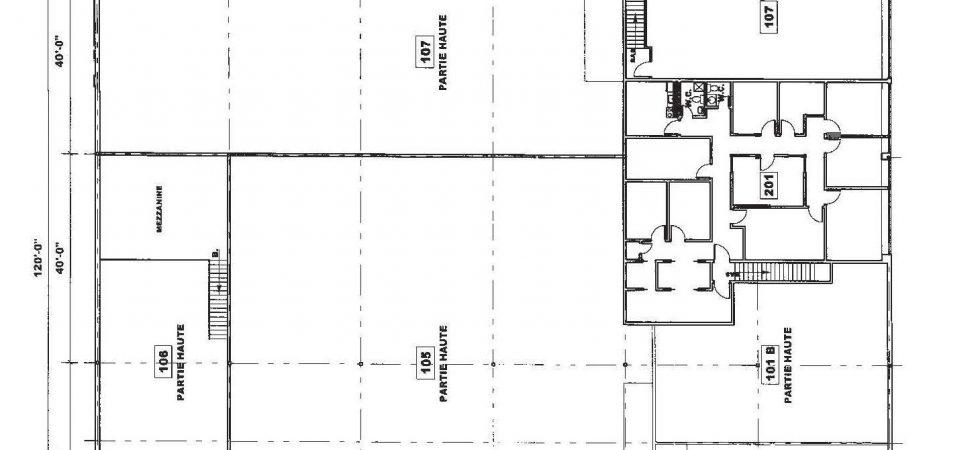 Bâtisse Industrielle: 2811 Ave Watt Québec, PLAN